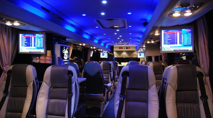 Beautiful interiors, leather seats, Sky TV, Bose sound and more....